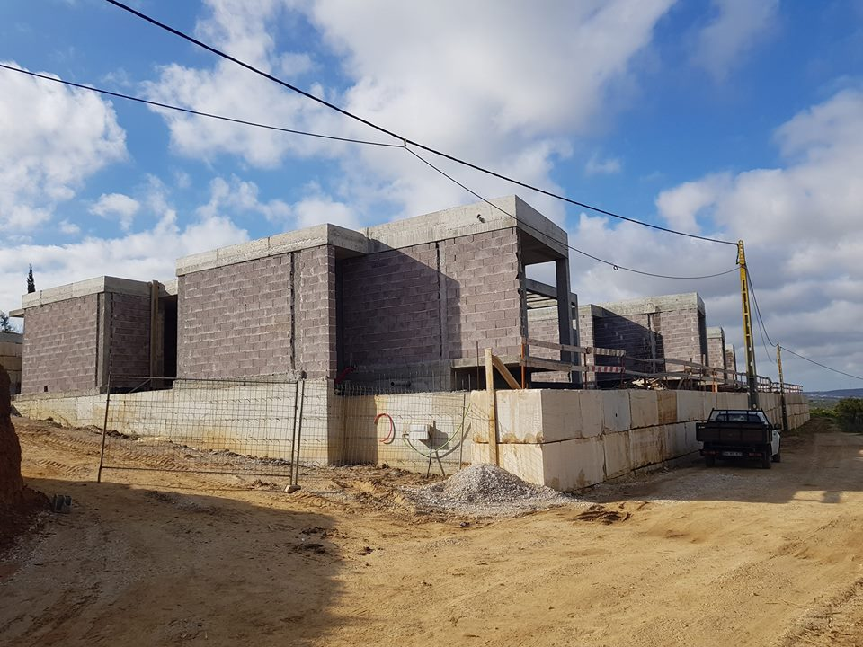 Construção de Cinco Moradias Unifamiliares